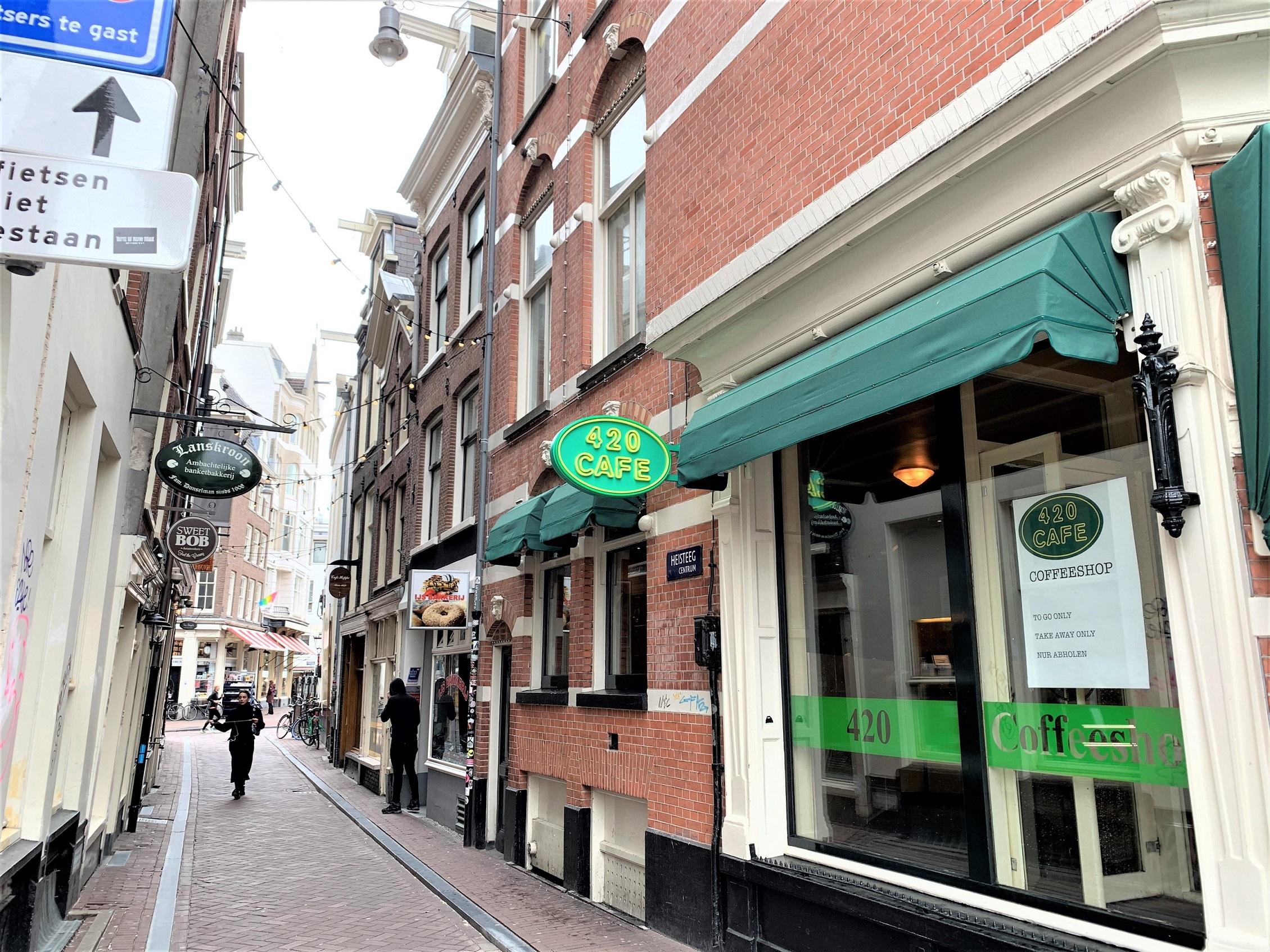 Heisteeg, Amsterdam