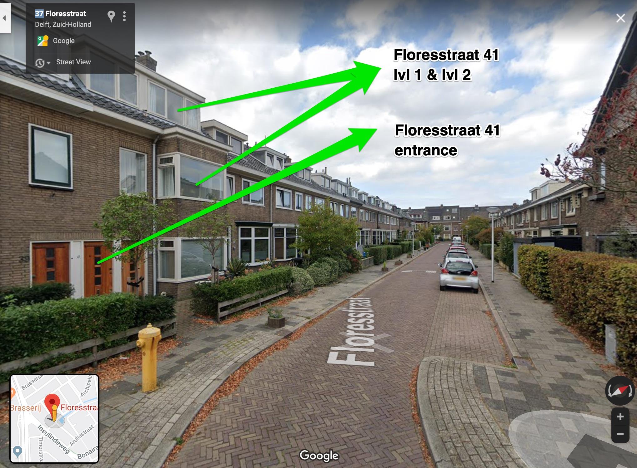 Floresstraat 41, Delft